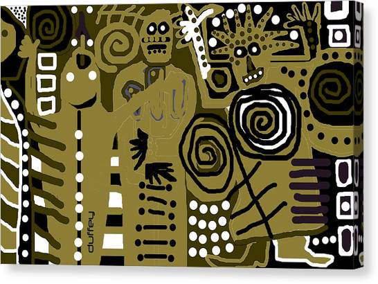 Ancients 1d Canvas Print