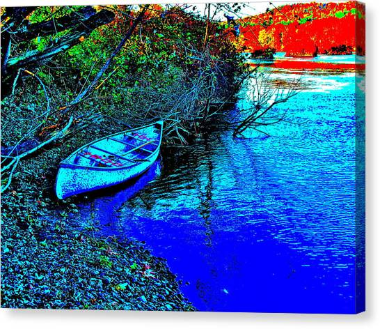 Andy River 17 Canvas Print