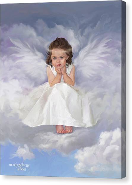 Angel 2 Canvas Print