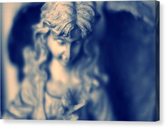 Angel Canvas Print by Bret Worrell