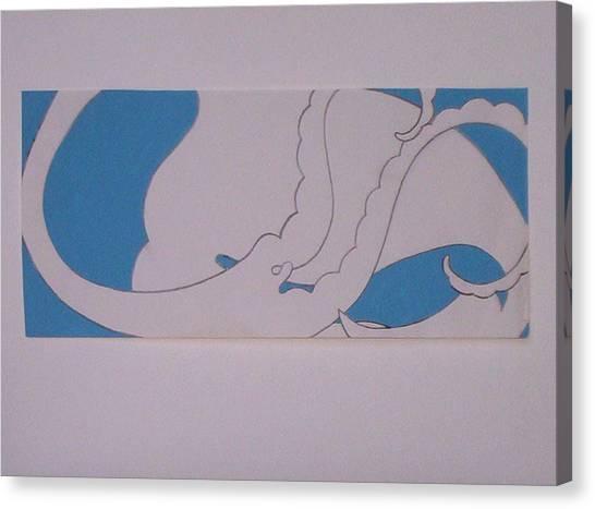 Angel Cloud Canvas Print by Lee Thompson