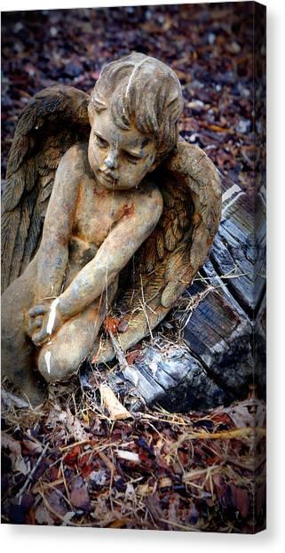 Angel For Khan Canvas Print