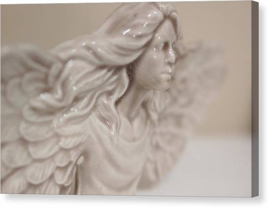 Canvas Print featuring the photograph Angel by Kelly Hazel