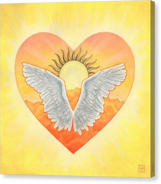 Angel Canvas Print by Lisa Kretchman