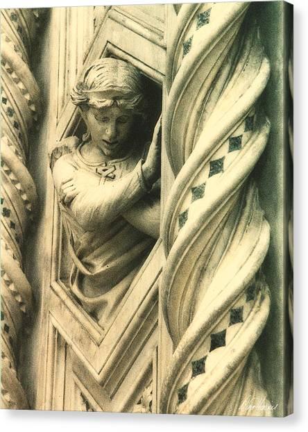 Angel Of The Basilica Canvas Print