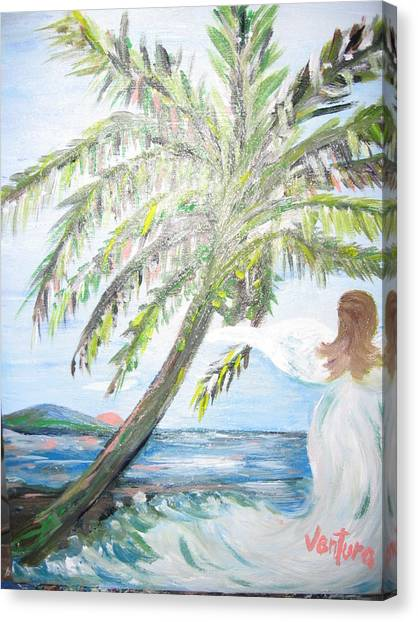Angel Of The Sea Canvas Print