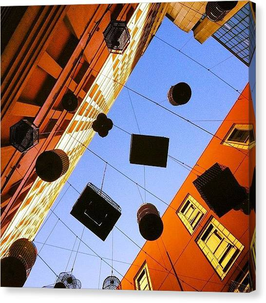 Installation Art Canvas Print - Angel Place by Alan Saunders