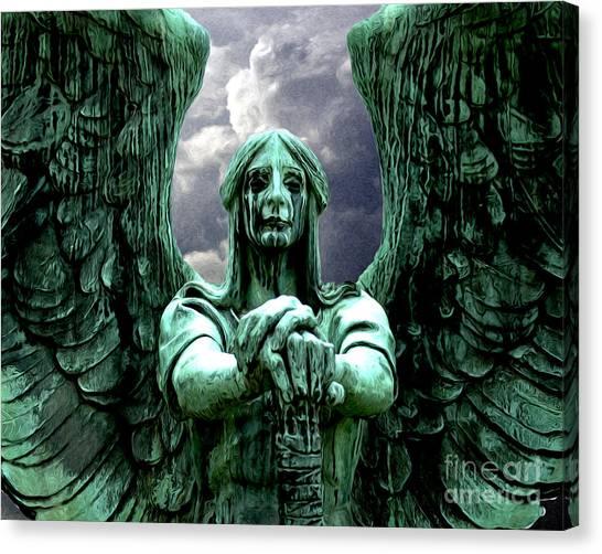 Angel Warrior Canvas Print