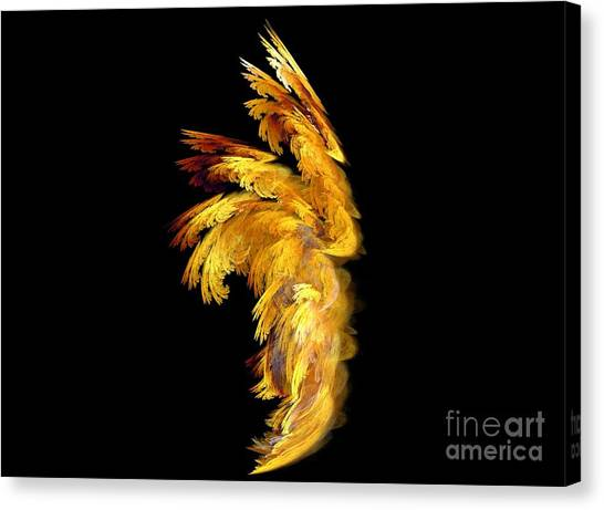Angel Wings 1 Canvas Print