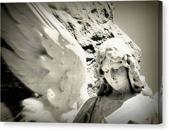 Angelic Beauty Canvas Print