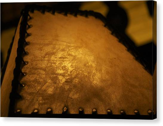 Angled Lamp Canvas Print by Dietrich Sauer