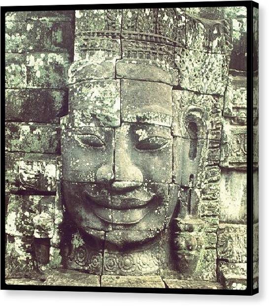 Judaism Canvas Print - #ankorwat #cambodia #temple #travel by Christoph Hensch