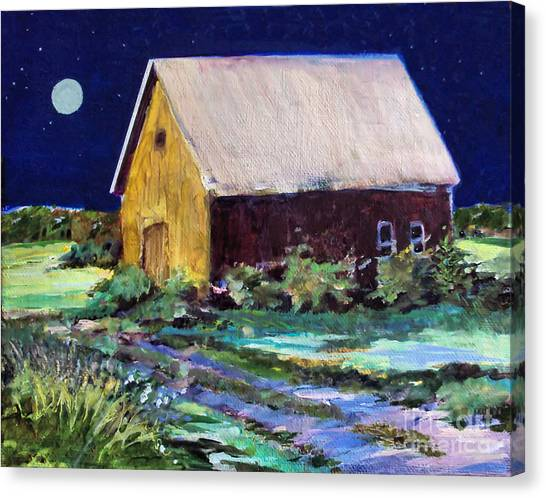 Another Barn Painting Canvas Print
