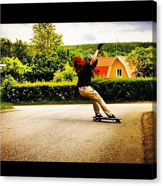 Swedish Canvas Print - Another Nice Pic By @schwartz28 ! And by Sweden Longboards