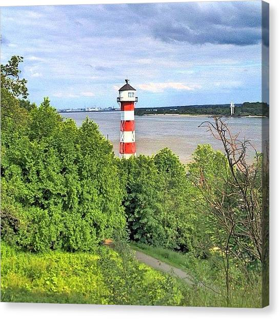 Lighthouses Canvas Print - Another Rissen Lighthouse Shot Taken On by Shelley Walsh