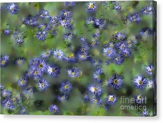 Another Something For You Canvas Print by Leo Symon