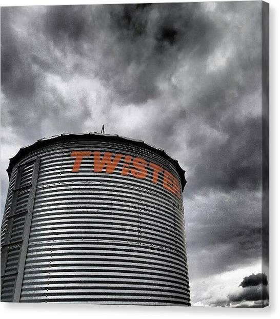Saskatchewan Canvas Print - Another Version Of A #photo I Shared by Michael Squier