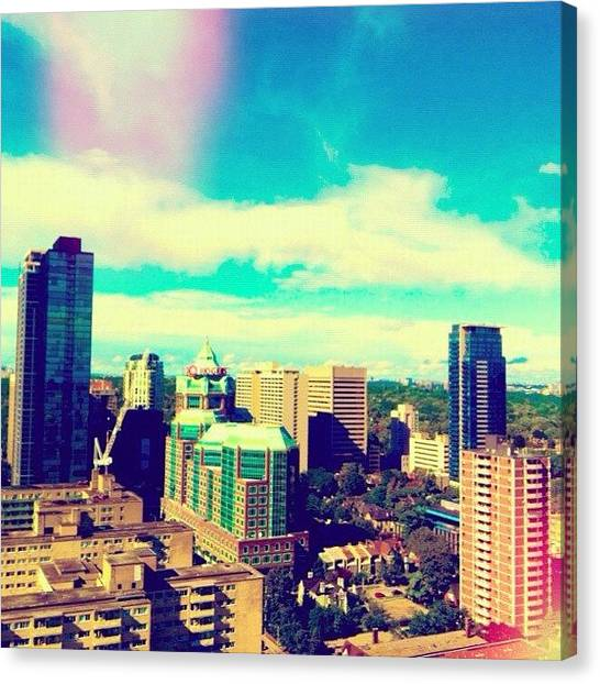 Toronto Skyline Canvas Print - Another View Of Gorgeous Toronto. #to by Tyler McCall