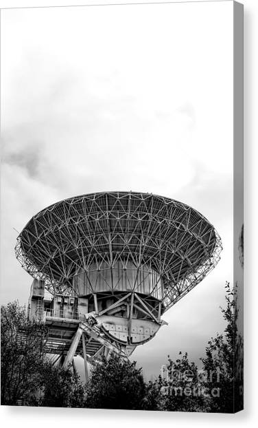 Satellite Canvas Print - Antenna   by Olivier Le Queinec