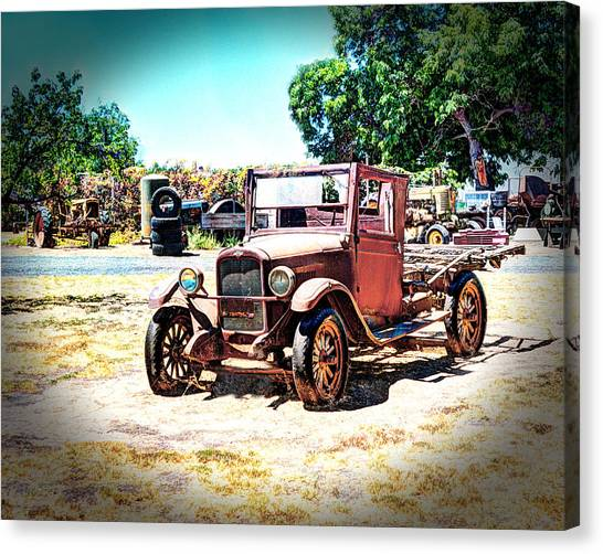 Antique Chevy Truck Canvas Print
