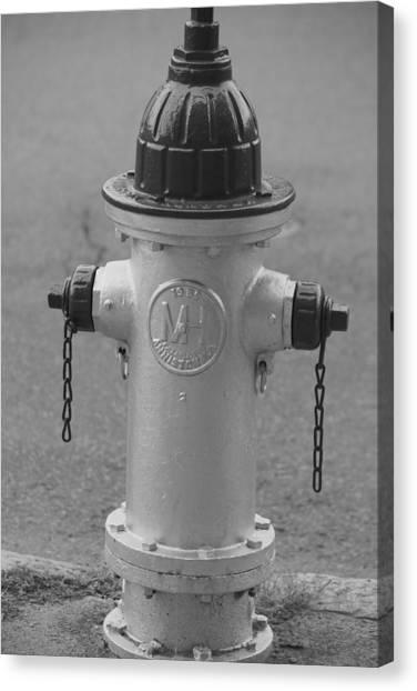 Antique Fire Hydrant Cambridge Ma Canvas Print