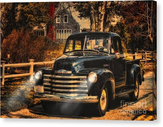 Antique Truckin Canvas Print