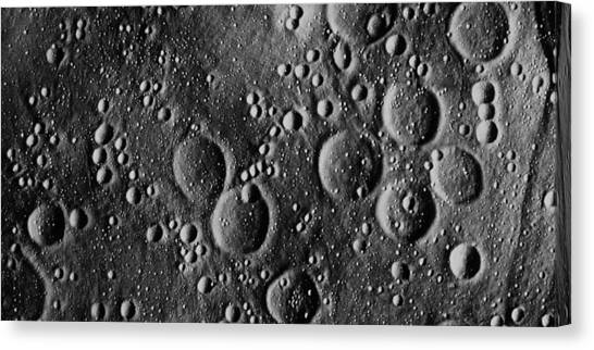 Apollo 13 Planned Landing Site On Moon Canvas Print by Nasa