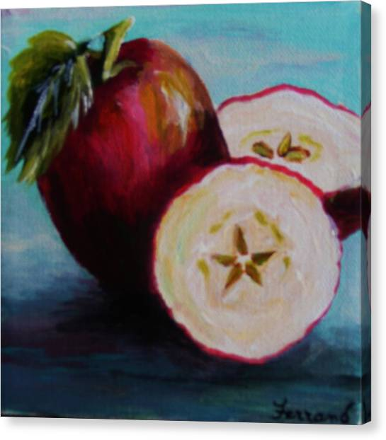 Apple Magic Canvas Print