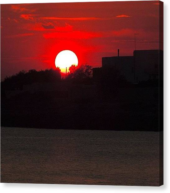 Still Life Canvas Print - Apulian Sunset by Chi ha paura del buio NextSolarStorm Project