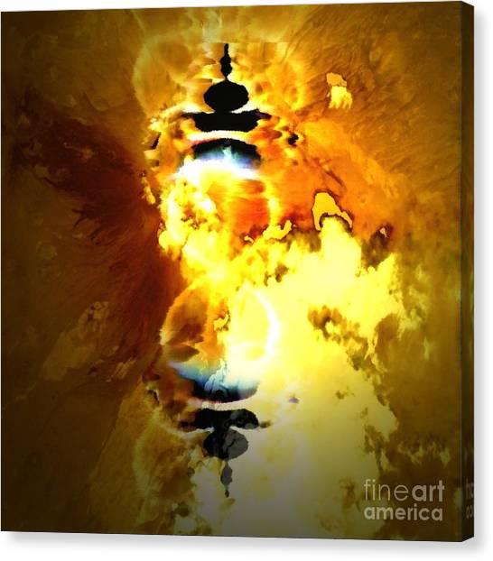 Arabian Dreams Number 5 Canvas Print