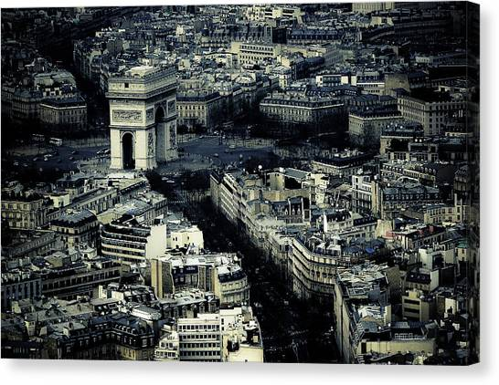Arc De Triumph Canvas Print by Gabriel Cusmir