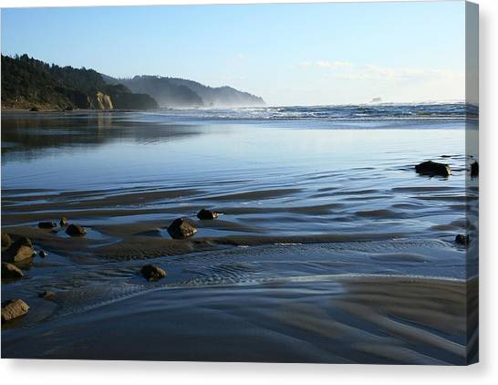 Arcadia Beach Canvas Print