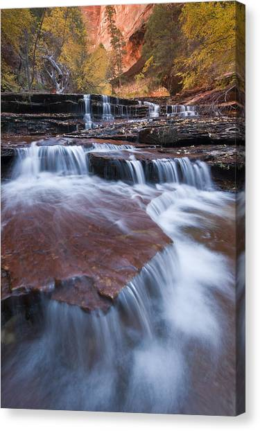 Angel Falls Canvas Print - Arch Angel Falls by Joseph Rossbach
