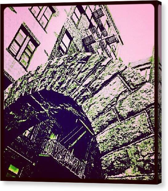 Installation Art Canvas Print - #arch #architecture #buildings #design by Radiofreebronx Rox