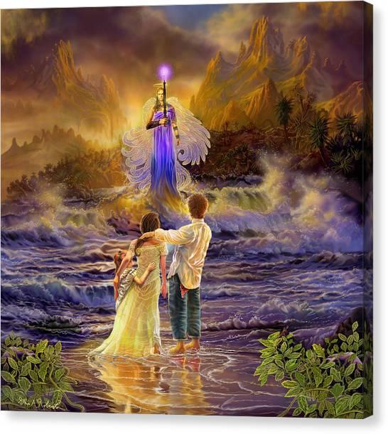 Archangel Jeremiel Canvas Print
