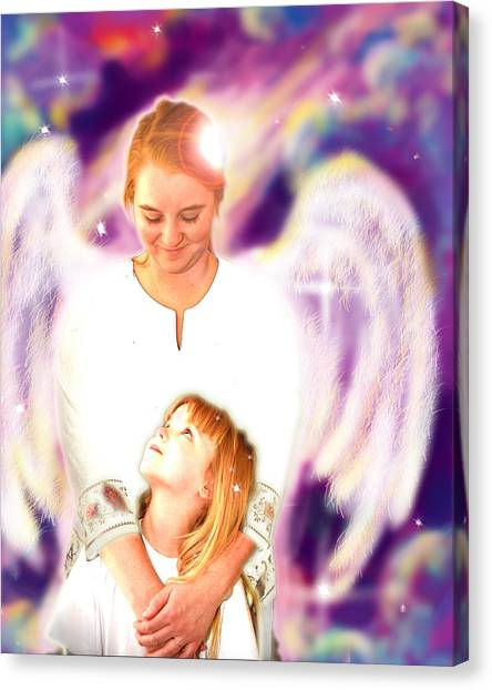 Archer. Angelic 4 Canvas Print