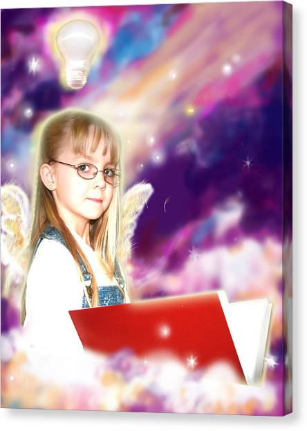 Archer.angelic Canvas Print