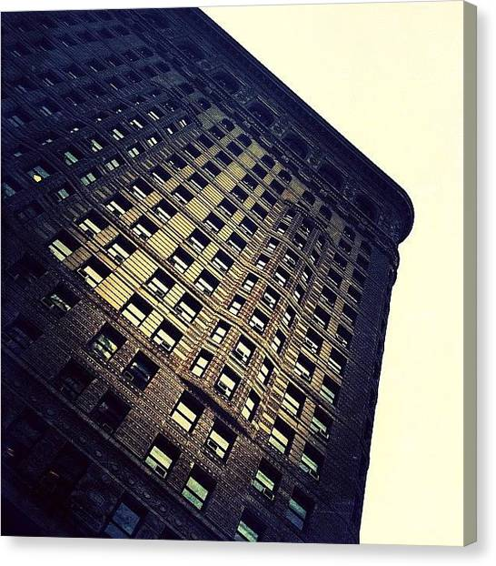 Landmark Canvas Print - Architectural Angle by Natasha Marco