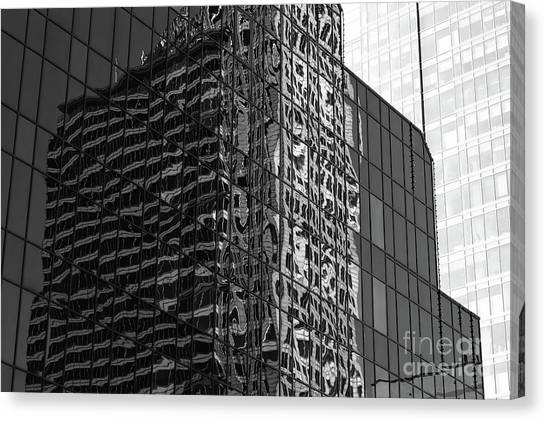 Architecture Reflections Canvas Print