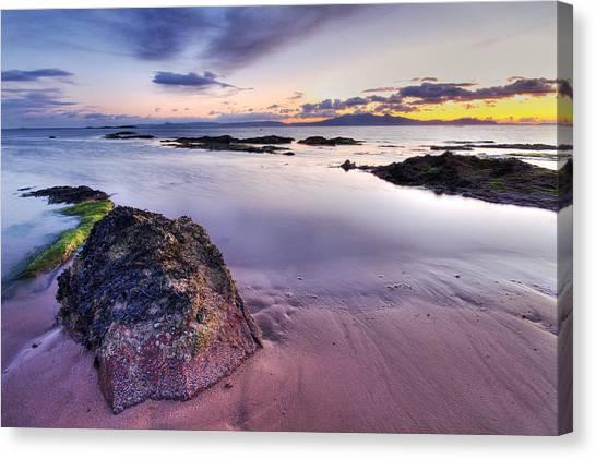 Ardrossan Sunset Canvas Print