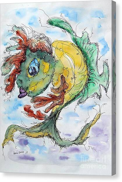 Ares Canvas Print by Natasa Dobrosavljev
