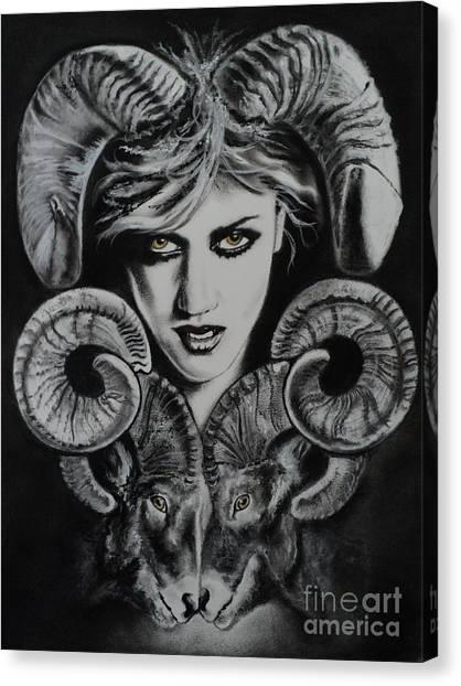 Aries The Ram Canvas Print