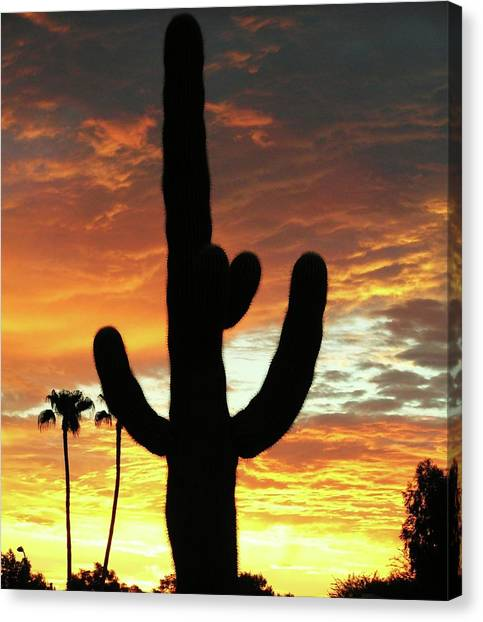 Arizona Sunrise 01 Canvas Print