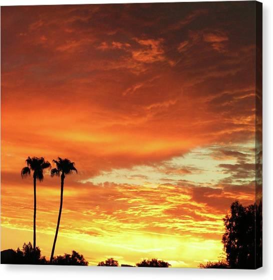 Arizona Sunrise 02 Canvas Print
