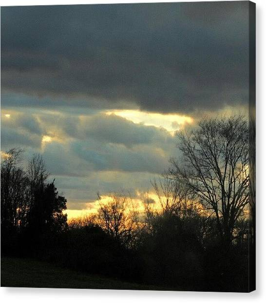 Arkansas Canvas Print - Arkansas Sky by Kelli Stowe