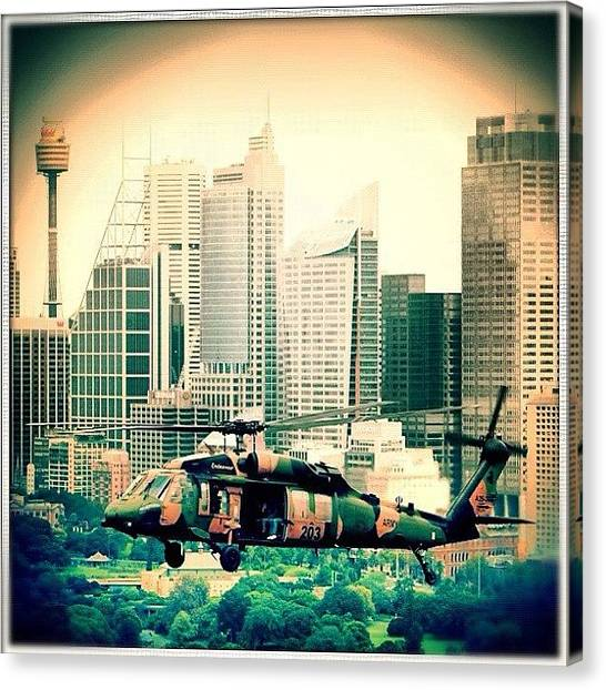 Army Canvas Print - #army #pilot #fav #popular #favourite by Luke Fuda