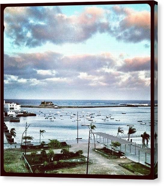 Marinas Canvas Print - Arrecife by Manuel M Almeida