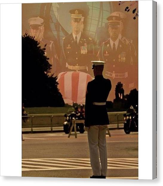 Army Canvas Print - #art #america #bestoftheday #army by Tom Gari Gallery-Three-Photography