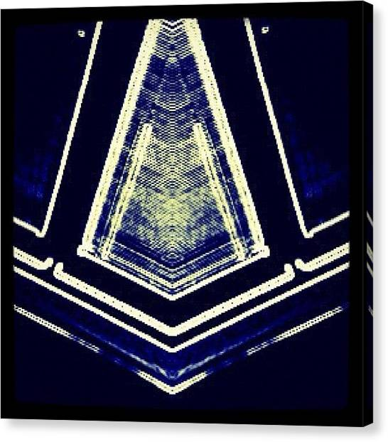 Triangles Canvas Print - #art #artist #create #graphic #photos by John Ransom