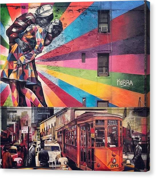 France Canvas Print - Art By Kobra by Randy Lemoine